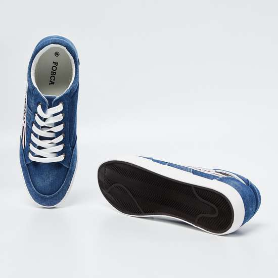 FORCA Printed Lace-Up Casual Shoes