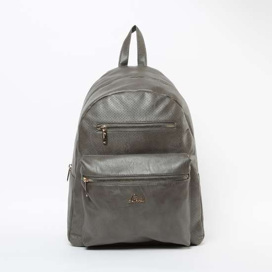 LAVIE Textured Perforated Backpack