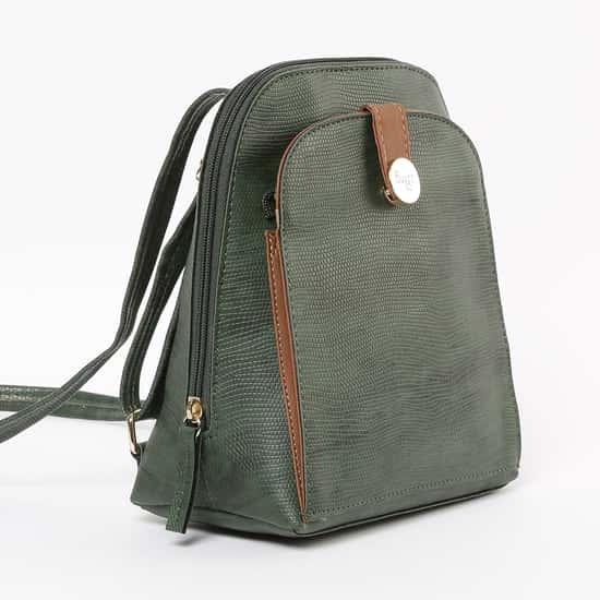 BAGGIT Reptilian Pattern Backpack