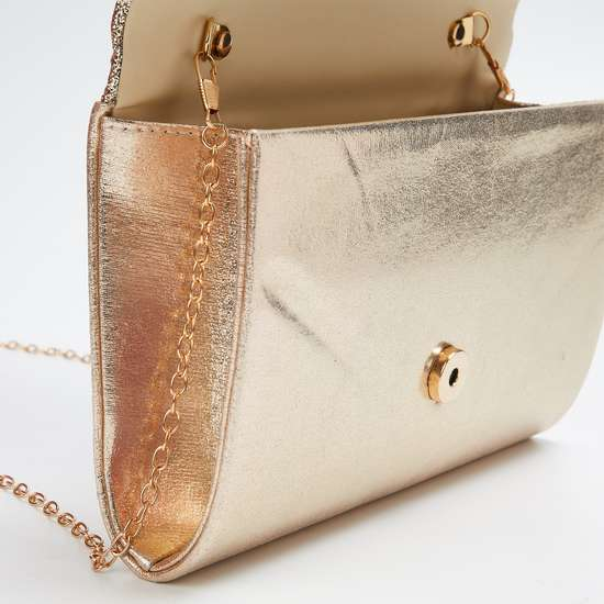 CODE Shimmery Party Clutch