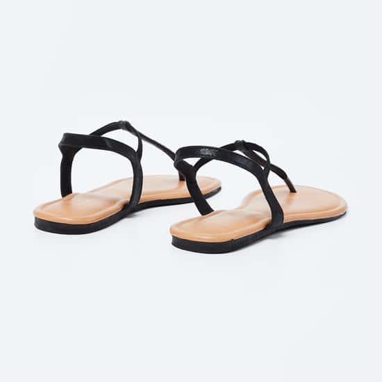INC.5 T-strap Slingback Flat Sandals