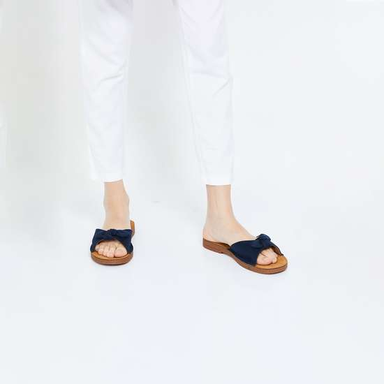 INC.5 Bow Detailed Casual Sandals