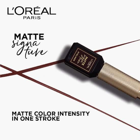 L'OREAL PARIS Matte Signature Eyeliner