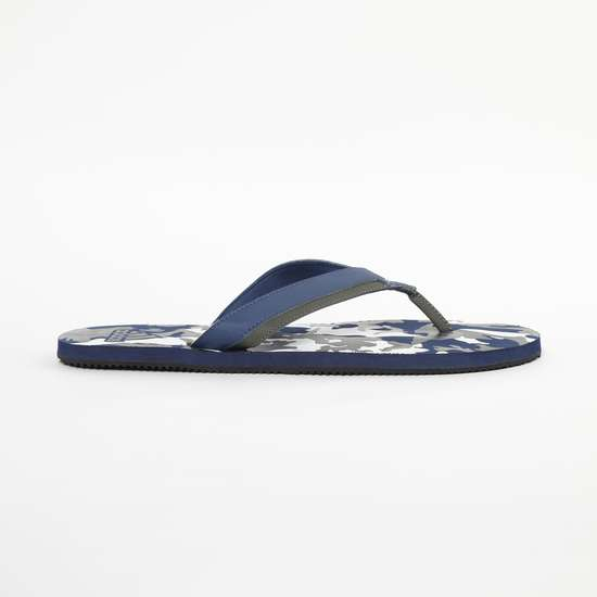 ADIDAS Camouflage Print V-strap Slippers