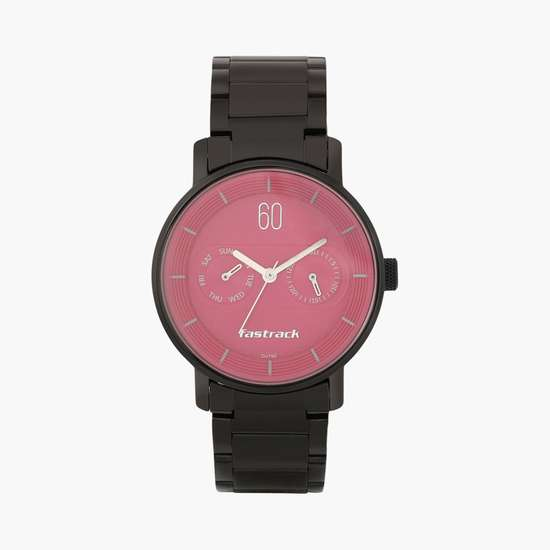 FASTRACK Women Multifunction Watch with Stainless Steel Strap - 6198NM02