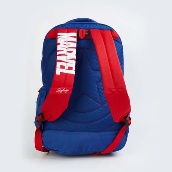 SKYBAGS Men Printed Zip-Closure Backpack