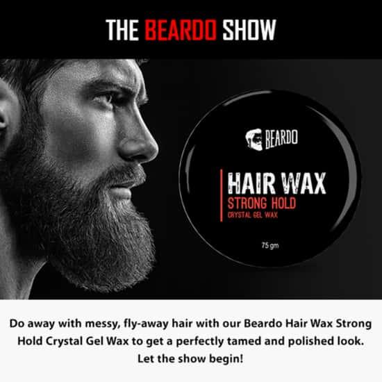 BEARDO Strong Hold Hair Wax