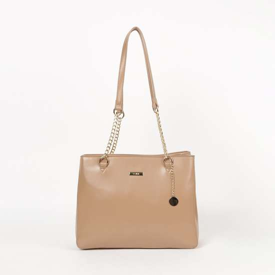 CODE Women Solid Zip-Closure Shoulder Bag