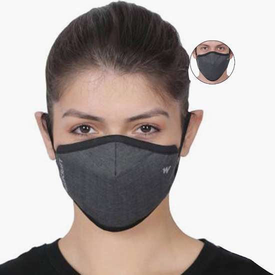 WILDCRAFT Unisex Solid Face Mask