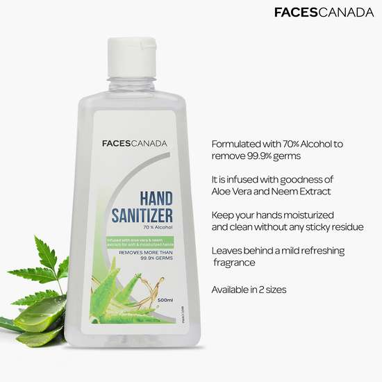 FACES CANADA  Hand Sanitizer- 500ml