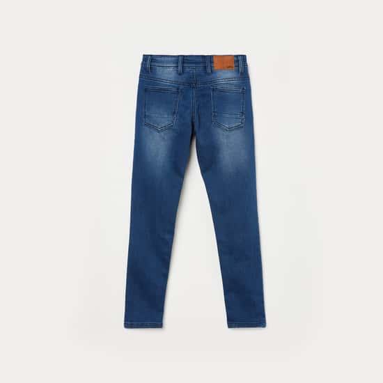 BOSSINI Boys Medium Wash Skinny Fit Jeans