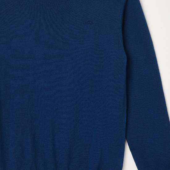 FAME FOREVER YOUNG Boys Solid Full Sleeves Sweater