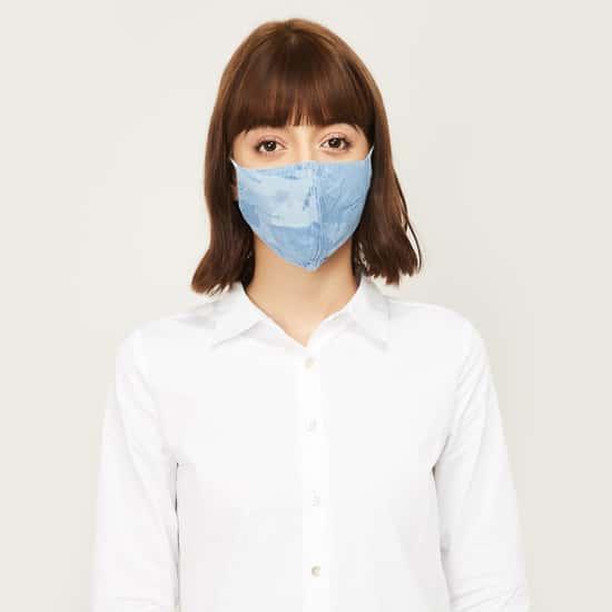 KRAUS Women Textured Face Mask