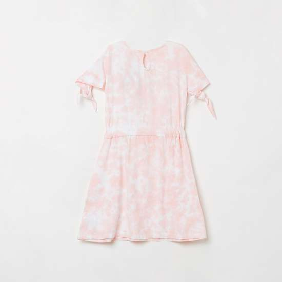 LEE COOPER JUNIORS Girls Tropical Print Fit and Flare Dress