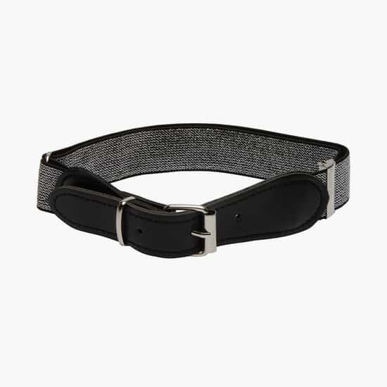 STOLN Girls Textured Elasticated Belt