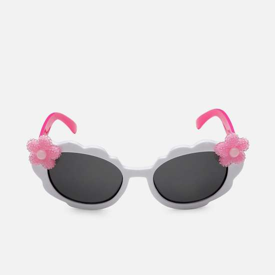 STOLN Girls Applique Detail Oval Sunglasses - 2094-A
