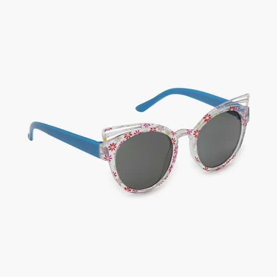 STOLN Girls Printed Round Sunglasses - 22814-6-A