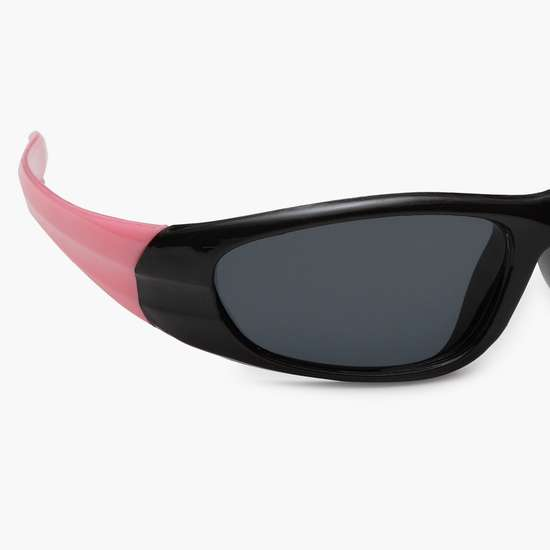 STOLN Girls Solid Rectangle Sunglasses