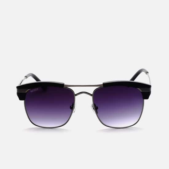 SCOTT Men UV-Protected Clubmaster Sunglasses - SC047C3STEVENS