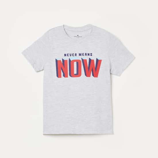 FAME FOREVER KIDS Printed Round Neck T-shirt - Set of 3 Pcs