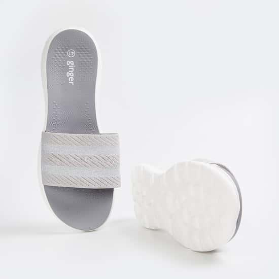GINGER Women Textured Sliders