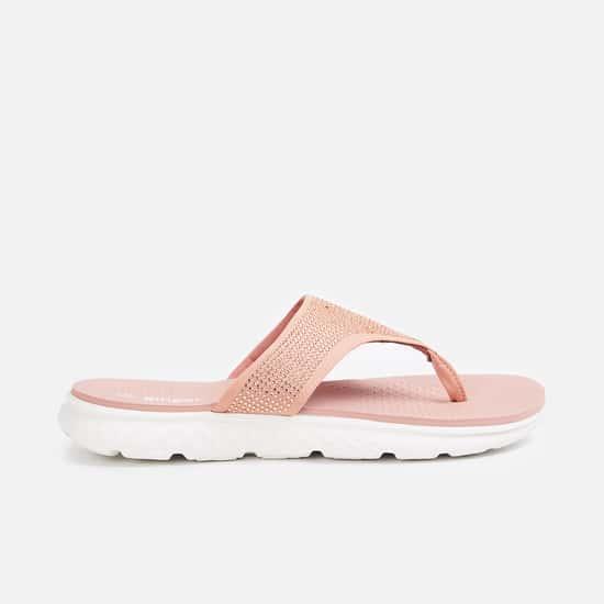 GINGER Women V-strap Flatform Slippers