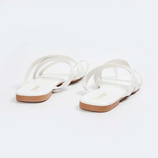 GINGER Women Solid multi-strap Flats