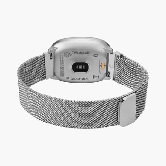 TIMEX iConnect Unisex Premium Active Mesh Bracelet Smartwatch - TW5M38