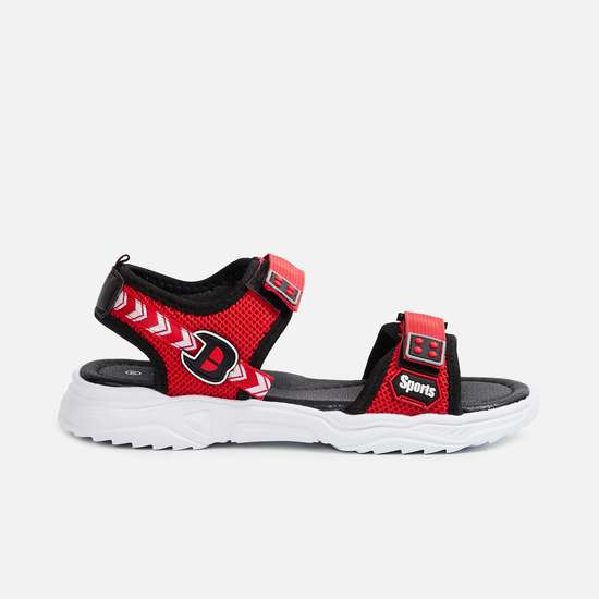 FAME FOREVER Boys Solid Veclro-Strap Casual Sandals