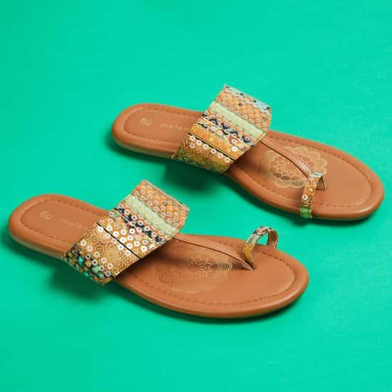 MELANGE Women Embellished Flats