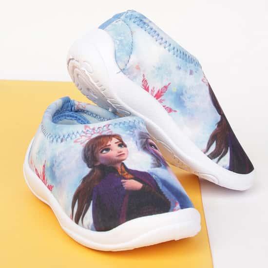 FAME FOREVER Girls Spiderman Print Slip-On Shoes