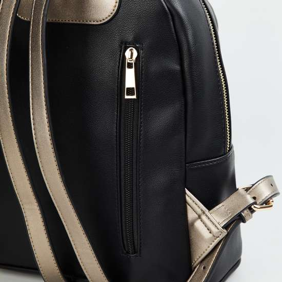 CODE Women Solid Backpack