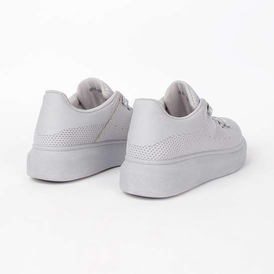 GINGER Women Textured Lace-Up Shoes