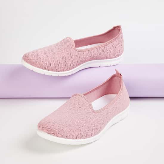 GINGER Women Solid Slip-On Shoes