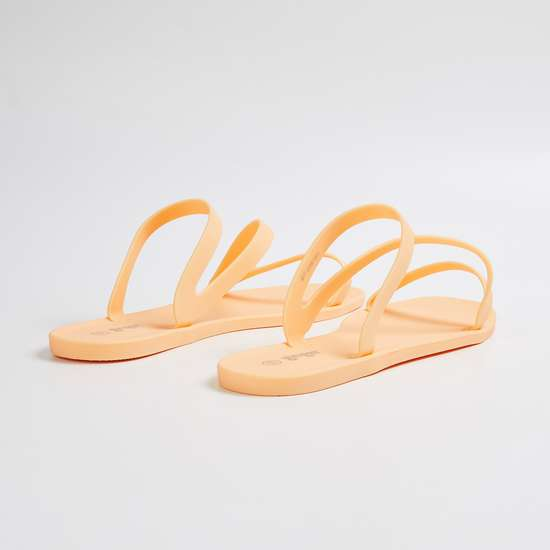 GINGER Women Solid Strappy Flats