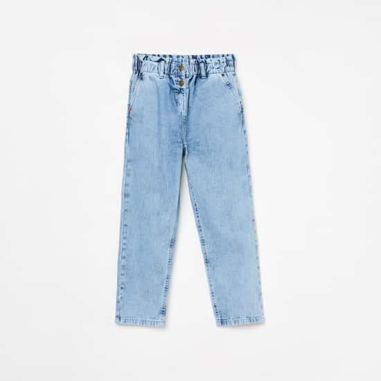 FAME FOREVER DENIMIZE Girls Stonewashed Skinny Fit Jeans