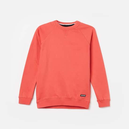 FAME FOREVER DENIMIZE Boys Solid Sweatshirt