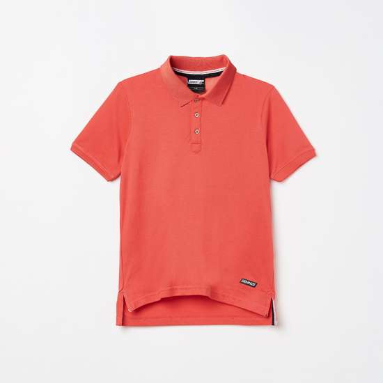 FAME FOREVER DENIMIZE Boys Solid Polo T-shirt