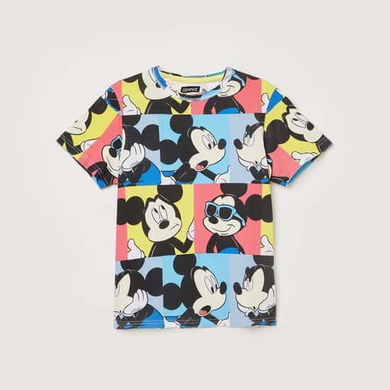 FAME FOREVER DENIMIZE Boys Printed Crew Neck T-shirt