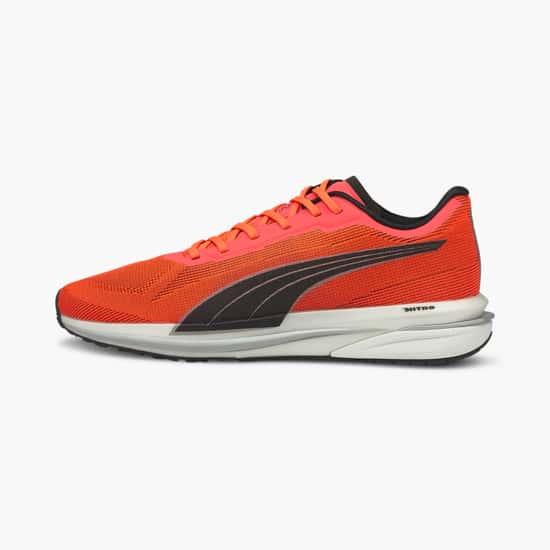 PUMA Men Mesh Lace-Up Running Shoes