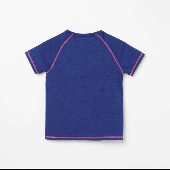 FAME FOREVER ACTIVE Girls Textured Round Neck T-shirt - Pack of 2