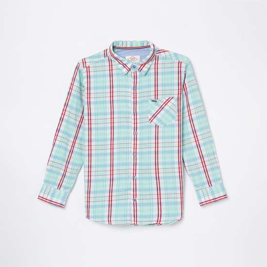LEE COOPERS JUNIOR Boys Striped Regular Fit Casual Shirt