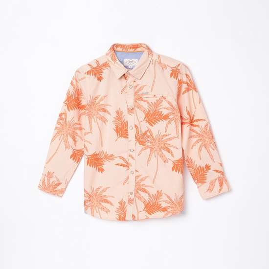 LEE COOPER JUNIORS Boys Printed Hawaiian Shirt