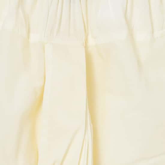 MELANGE Boys Embroidered Kurta with Solid Dhoti Pants