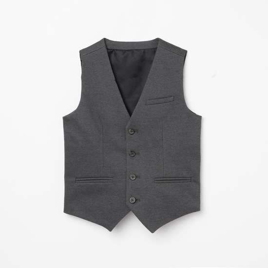 FAME FOREVER YOUNG Boys Solid Waistcoat