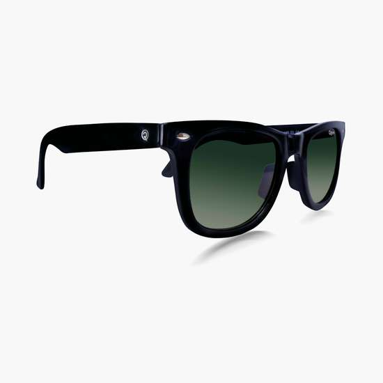O2GEN Men Solid UV Protected Wayfarer Sunglasses- O2-21-001-C1