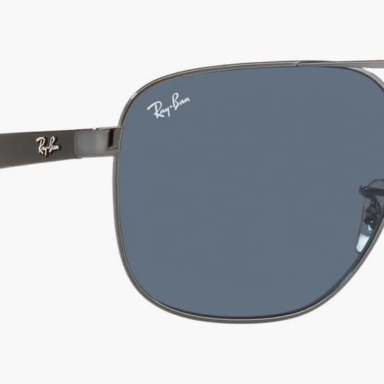 RAY-BAN Men UV-Protected Square Sunglasses- 0RB3678I-004-80-58