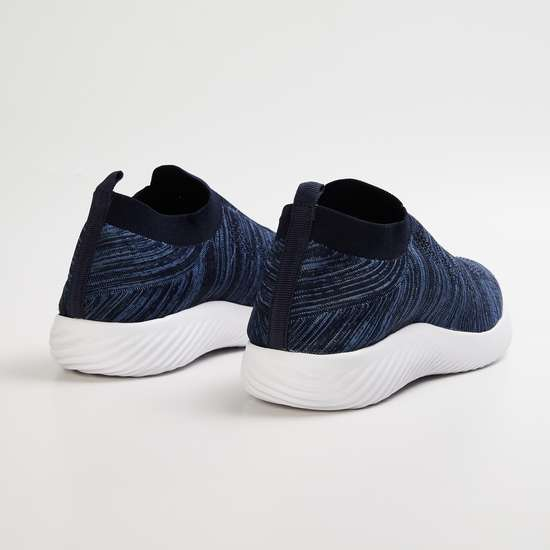 FORCA Men Textured Slip-On Shoes