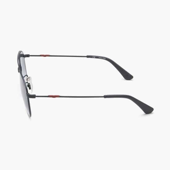 POLICE Men UV-Protected Square Sunglasses-SPL996A57180