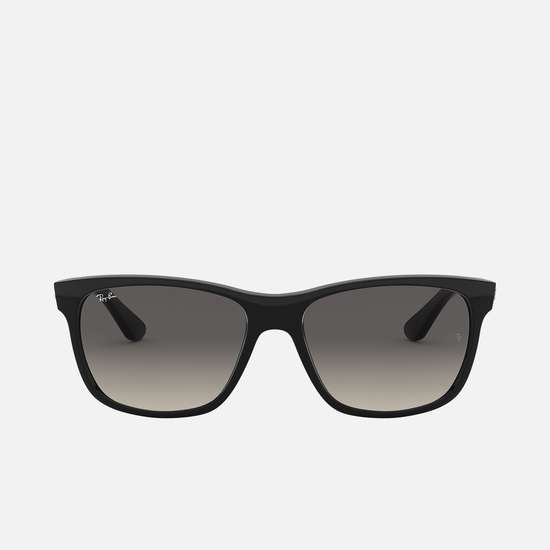 RAY-BAN Men Solid Square Wayfarers - 0RB4181-601-71-57